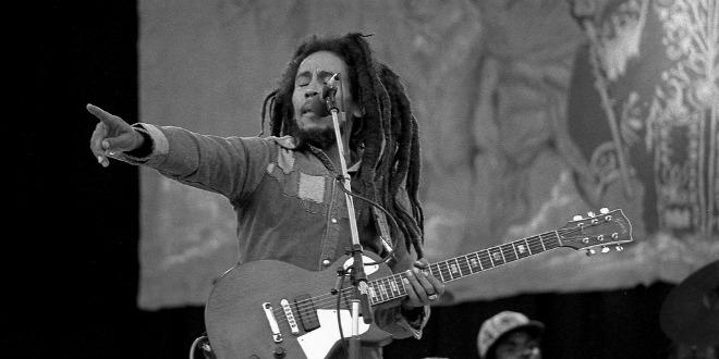 Bob Marley en concierto