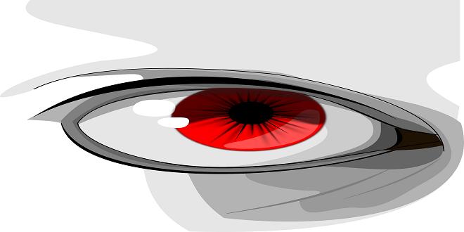 Podríamos tener los ojos rojos