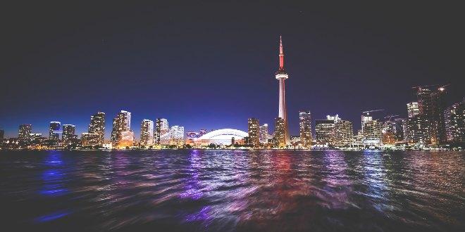 Ciudades del futuro noche