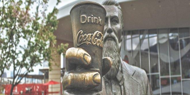 estatua Coca Cola Atlanta