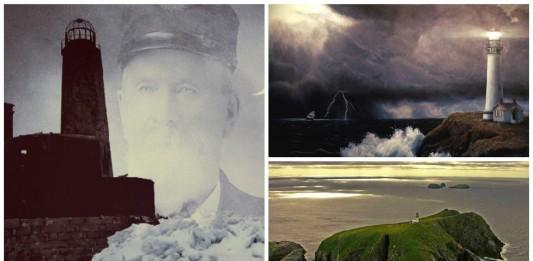 La inquietante historia de los vigilantes fantasma del faro de Eilean Mor
