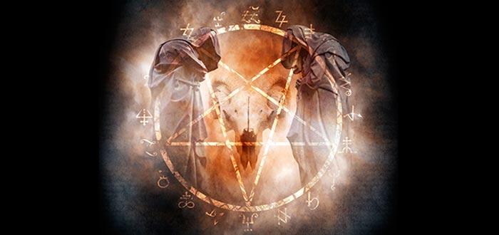 estrella de cinco puntas, pentagrama, ritual