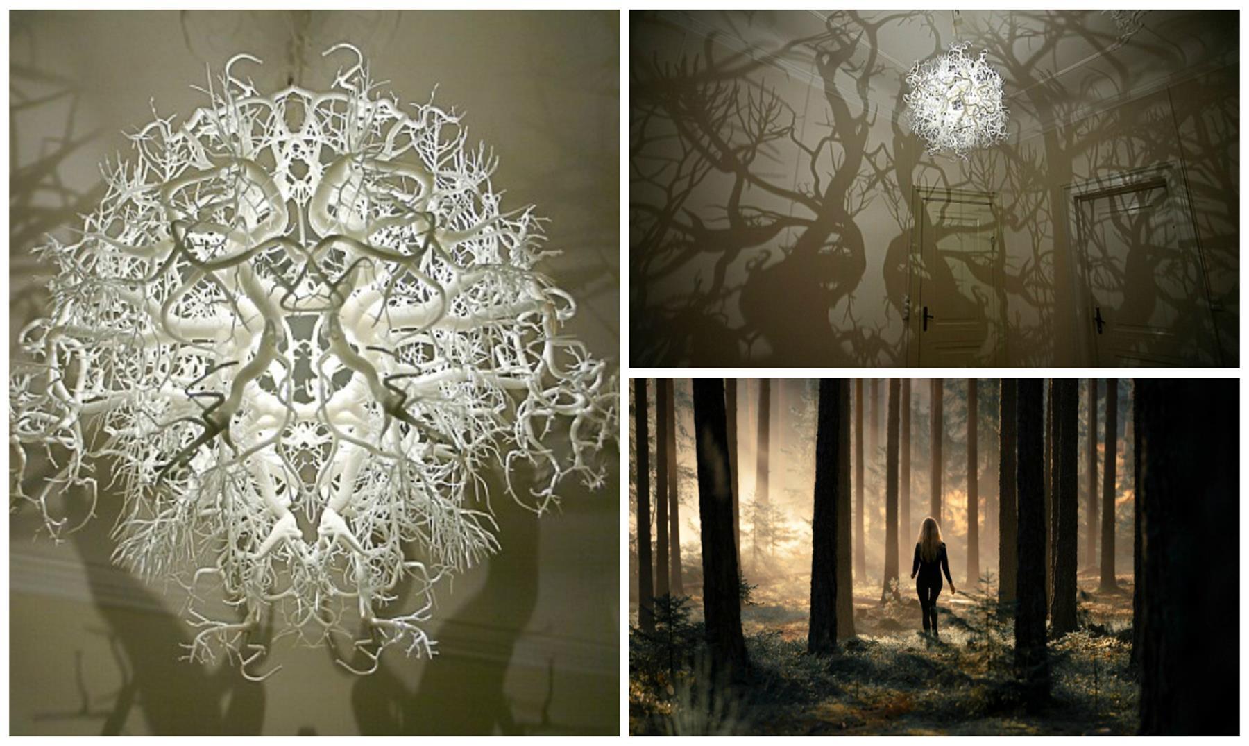 La l mpara que crea un bosque encantado en tu habitaci n - Crea tu habitacion ...