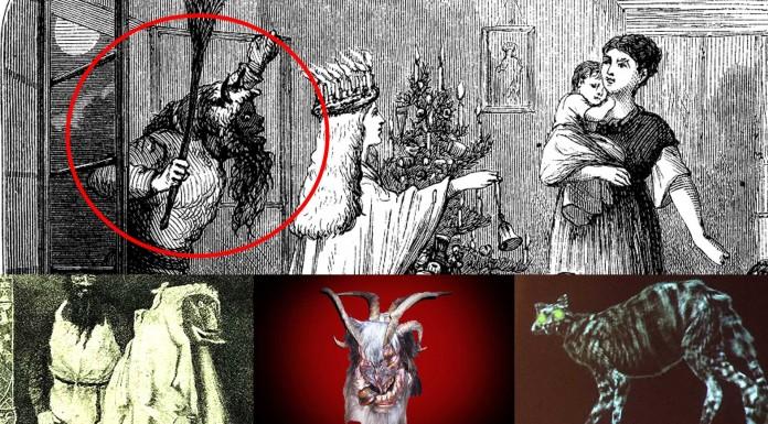 6 ESPELUZNANTES Monstruos de la Navidad
