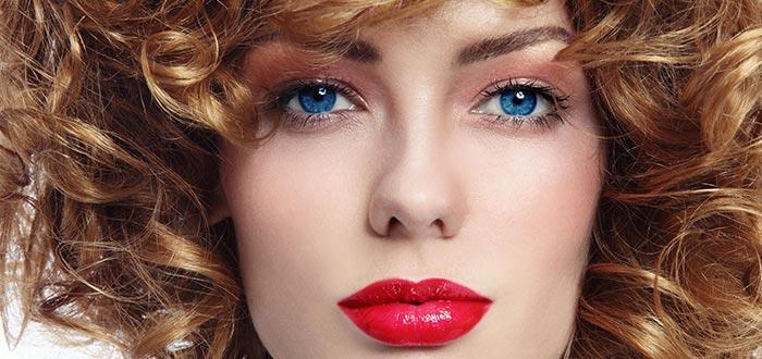 ojos azules, iris