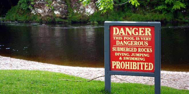 peligro arroyo