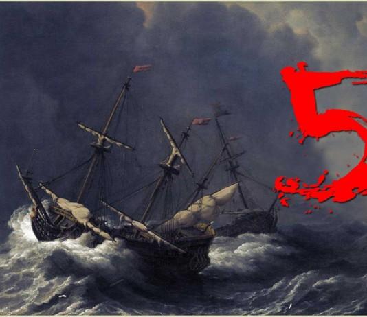 5 historias sobre naufragios que debes conocer