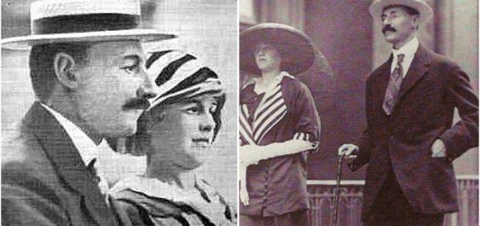 Madeleine Astor y Emilio Portaluppi