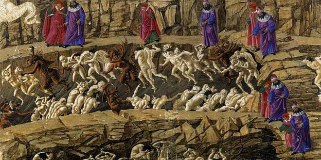 Infierno Botticelli