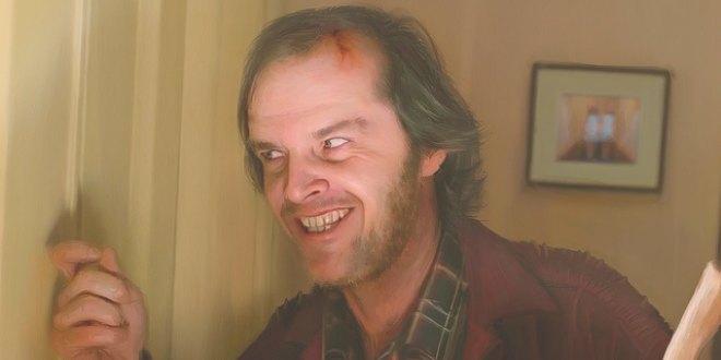 """Jack Nicholson como Jack en """"El resplandor"""""""