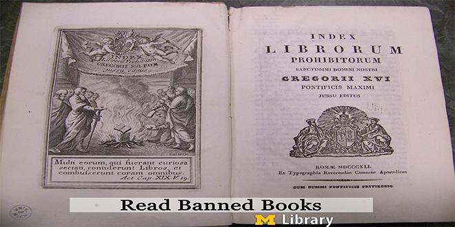 Índice de libros prohibidos