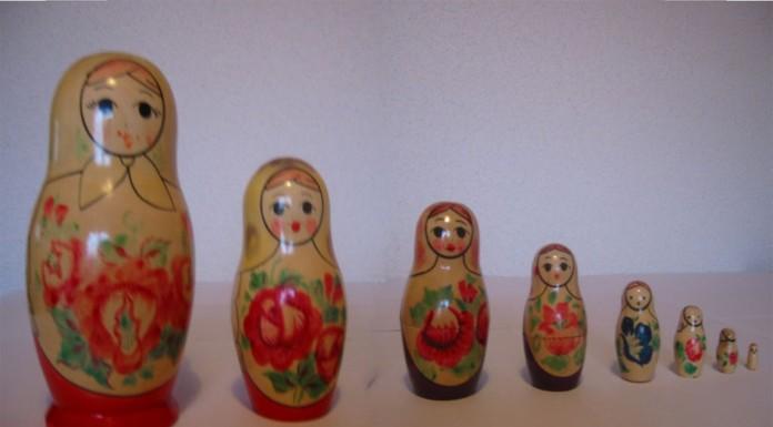 ¿Conocías el origen japonés de las Matrioskas rusas?