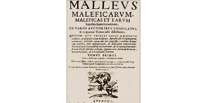 Malleus maleficarum, existen las brujas