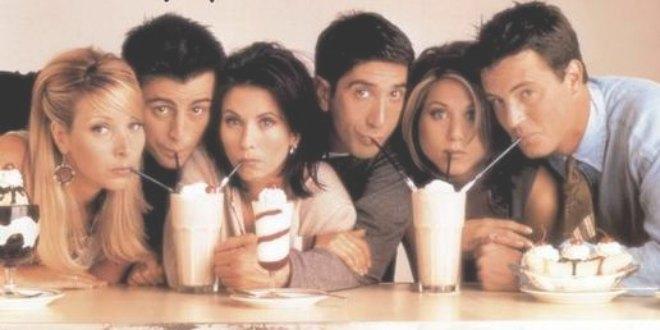 Escena promocional de la serie de televisión Friends