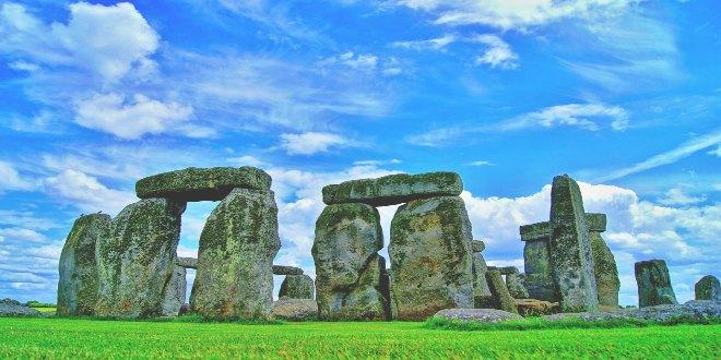 Imagen de Stonehenge de día