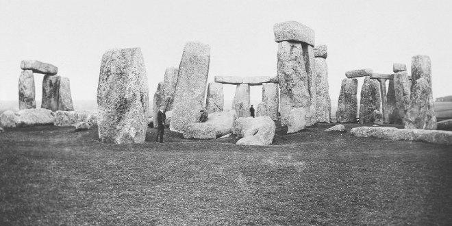 Foto antigua de Stonehenge