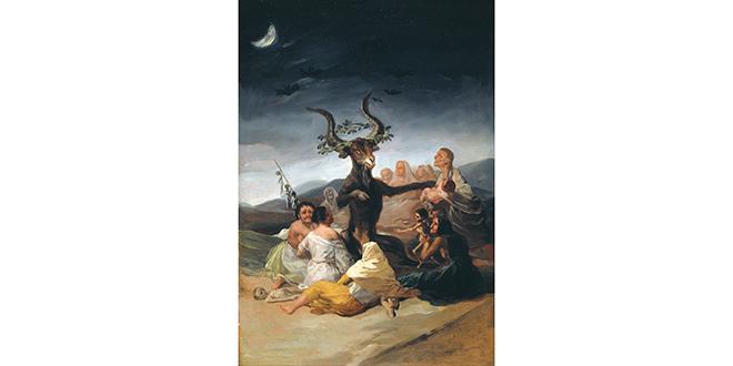 """""""El aquelarre"""", Francisco de Goya, existen las brujas"""