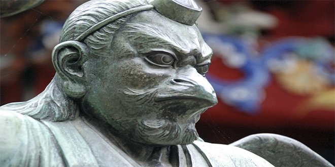 Tengu_Estatua
