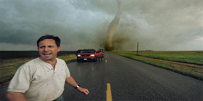 Tim Samaras, en el tornado que le quitaría la vida