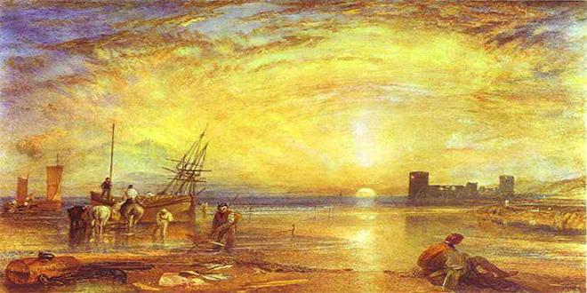 """""""Castillo de Flint"""", William Turner"""