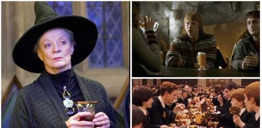 6 bebidas del mundo mágico de Harry Potter