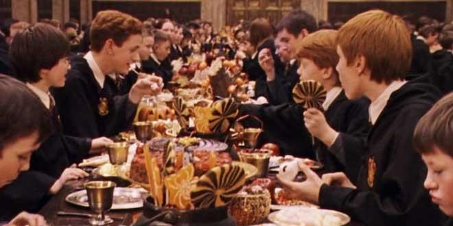 comida Hogwarts