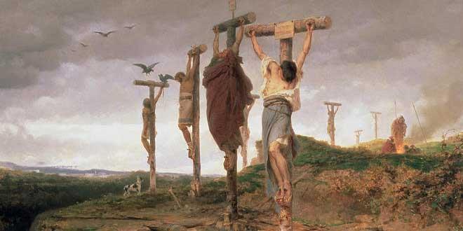 El campo maldito (esclavos ejecutados) - Fyodor Bronnikov, 1878