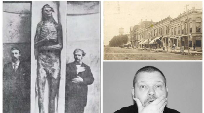 El misterio de los 18 esqueletos gigantes de Wisconsin