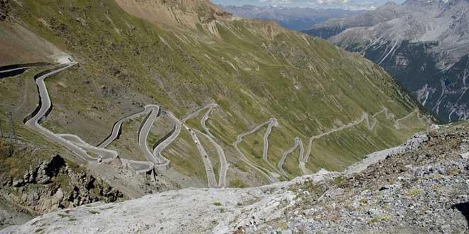 italia paso Stelvio