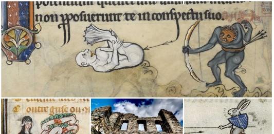 ¡ASÓMBRATE con las extravagantes marginalia medievales!