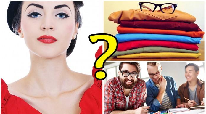 ¿Qué dice el color de tu ropa de ti?