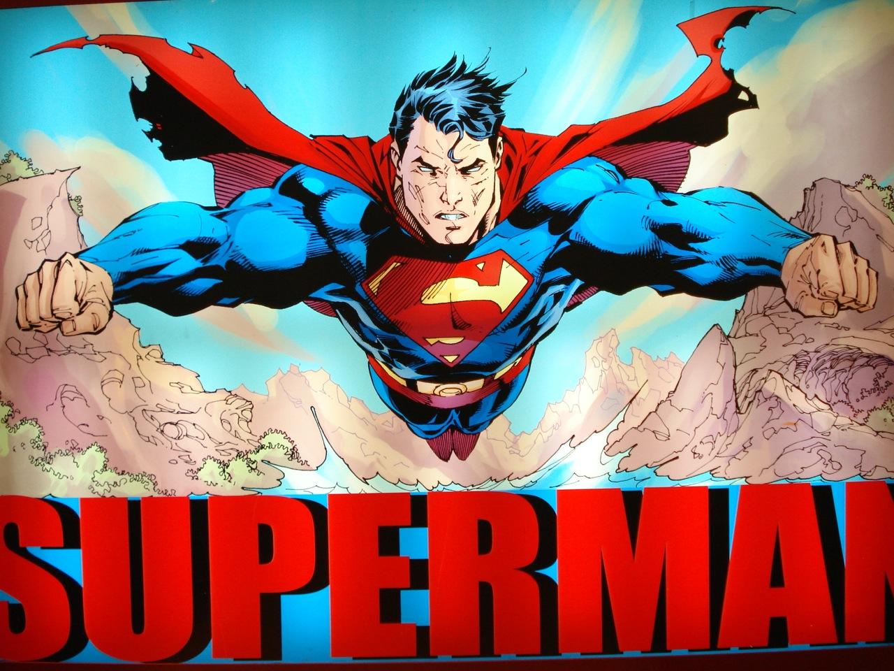 Superman y su capa