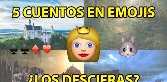 ¿Puedes descifrar estos 5 cuentos en emojis?