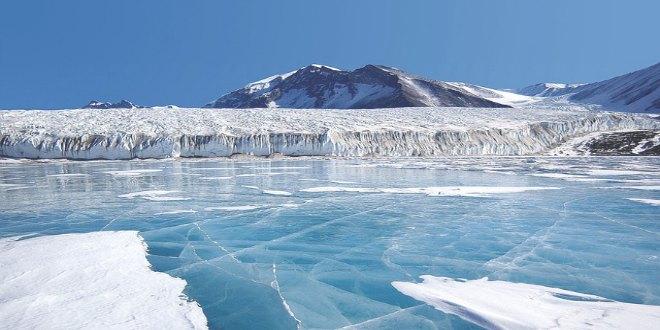 Posibles pirámides en la Antártida