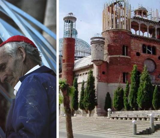 """La """"Catedral de Justo"""": la catedral reciclada construida por un solo hombre"""