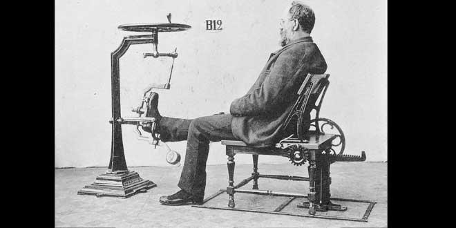 máquina Gustav Zanders