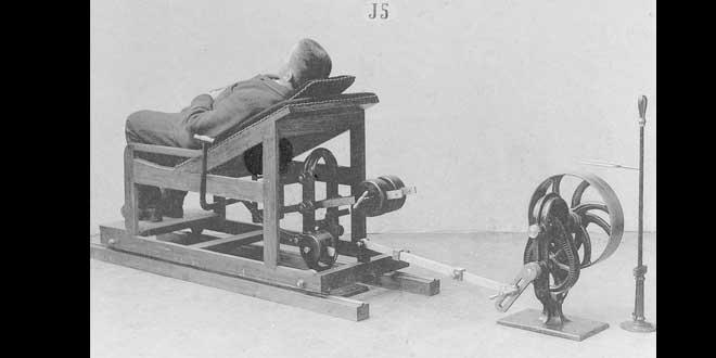 máquina masaje de espalda
