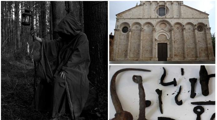bruja enterrada en la Toscana