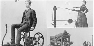 increíbles máquinas de gimnasia victorianas