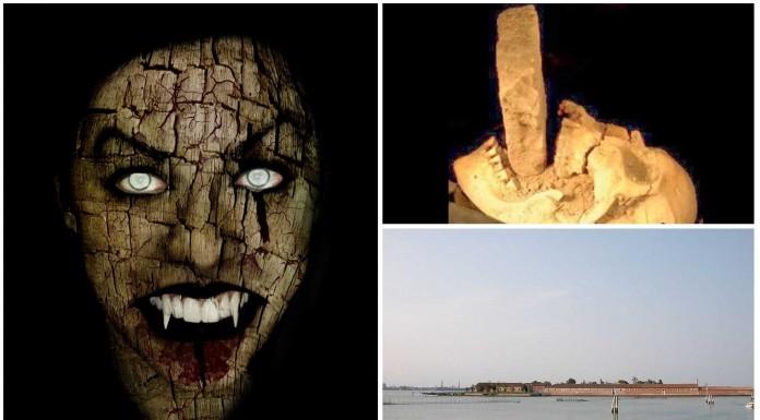 Cómo mataban a los vampiros en la isla Lazareto en Venecia