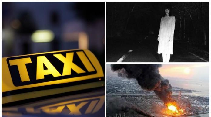 """Taxistas que """"recogen"""" pasajeros fantasma en las ciudades aquejadas por el tsunami del 2011"""