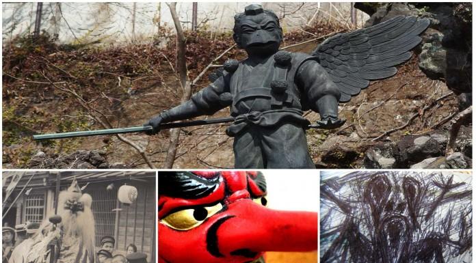 El escalofriante demonio Tengu, el hombre-pájaro japonés