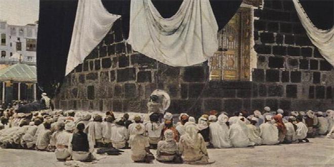 La multitud se congrega para rendirle culto a la Piedra. 1953