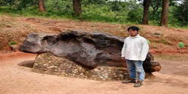 El meteorito Mbosi