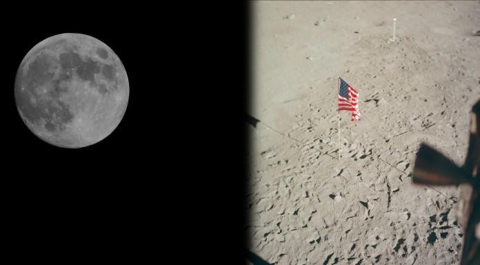 ¿Podemos ver las banderas plantadas en la Luna desde la Tierra?
