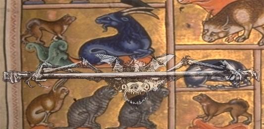 bestias medievales asombrosas