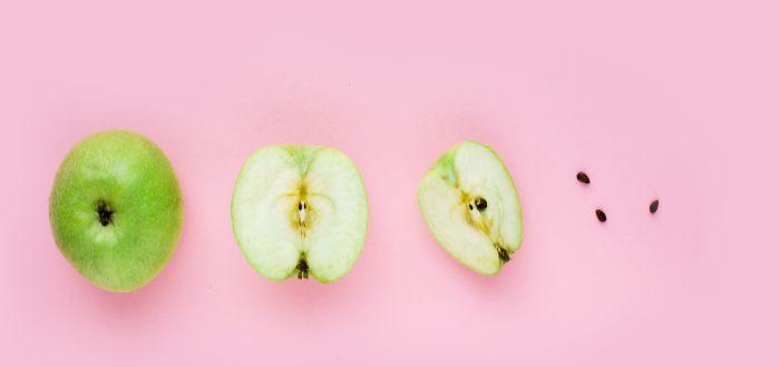 Las semillas de manzana tienen cianuro