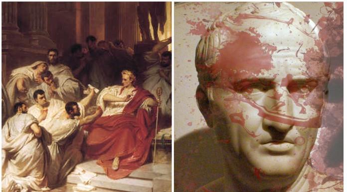 Descubren el escenario del asesinato de Julio César