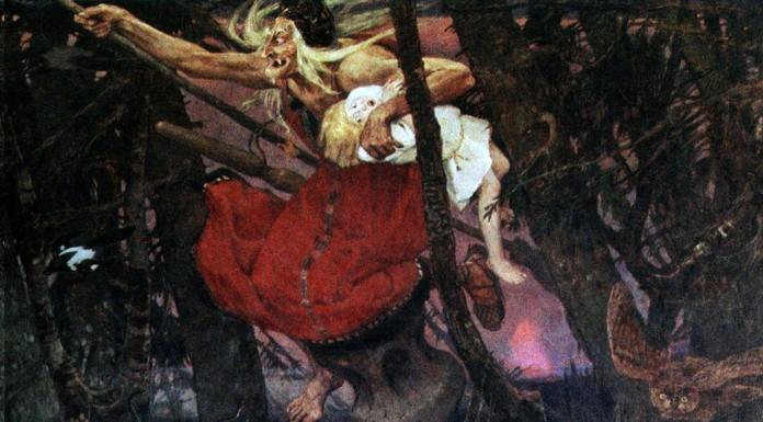 Baba Yaga, la bruja de los bosques rusos