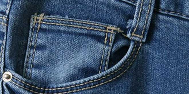 ¿Para qué se puso el pequeño bolsillo de los vaqueros?